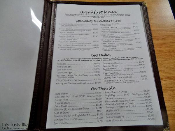 Menu 2 | Lemon Grove Cafe - San Diego, CA