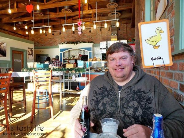 Inside the restaurant at Lulu's Bread & Breakfast | Las Vegas, NV | This Tasty Life - http://food.theplainjane.com