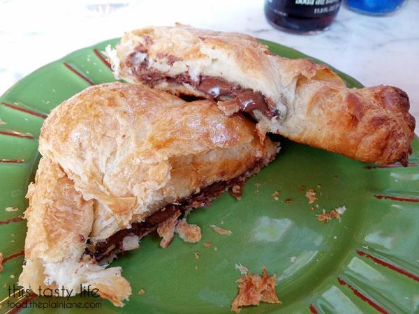 Nutella Croissant at Lulu's Bread & Breakfast | Las Vegas, NV | This Tasty Life - http://food.theplainjane.com