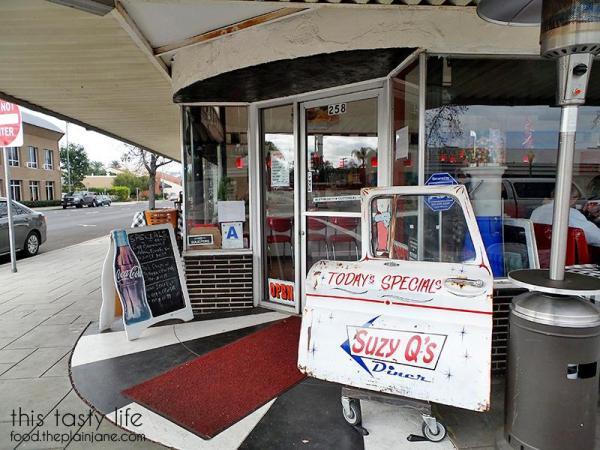 Front Specials at Suzy Q's Diner - Escondido, CA