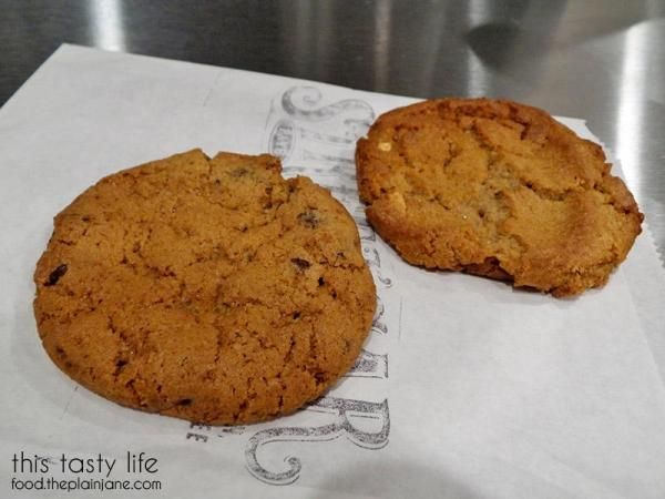 Chocolate Chip Cookie and Peanut Butter Cookie at The Milk Bar | North Park - San Diego, CA