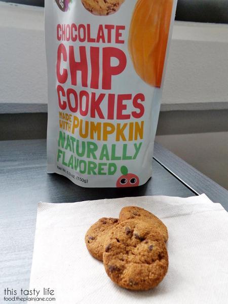 Chocolate Chip with Pumpkin Hidden Garden Cookies