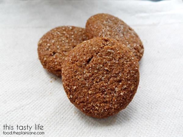 Gingersnap with Butternut Squash Hidden Garden Cookies