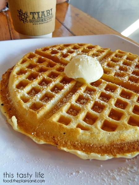 Plain waffle | TIABI Coffee & Waffle Bar | Las Vegas, NV