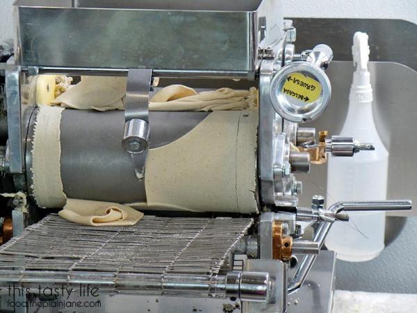 Tortilla machine at Pipirins | Gaslamp Quarter - San Diego, CA