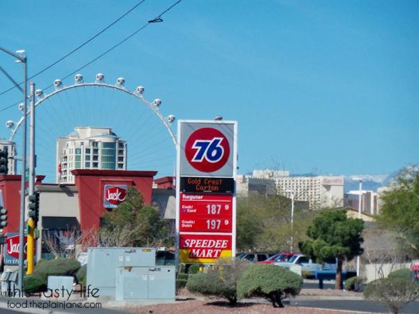 Gas prices in Vegas