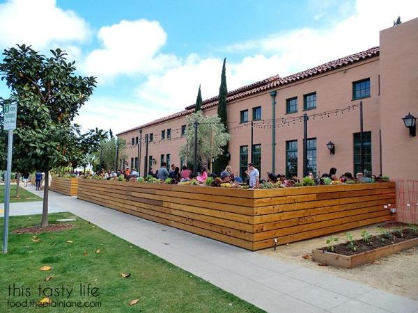 Outdoor Patio at Liberty Public Market | Libtery Station - San Diego, CA