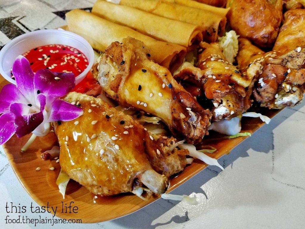 Chicken Wings + Lumpia   Matua's Sushi Bar and Islander Grill - Chula Vista, CA