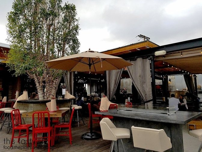 Outdoor Patio at The Crack Shack | Little Italy - San Diego, CA