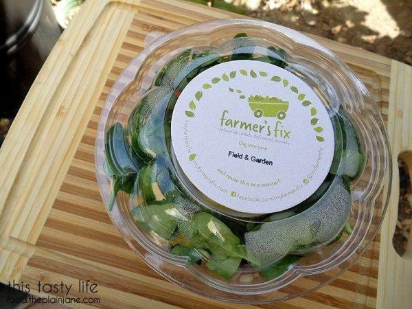 Field and Garden Salad   Farmer's Fix - San Diego, CA