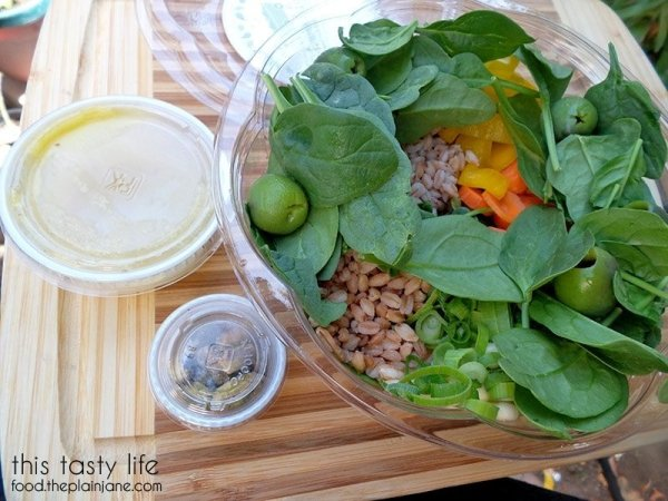 Field and Garden Salad | Farmer's Fix - San Diego, CA
