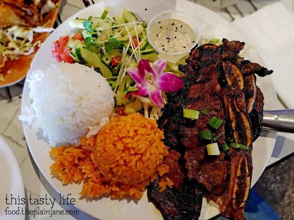 Kalbi Ribs Plate | Matua's Sushi Bar and Islander Grill - Chula Vista, CA