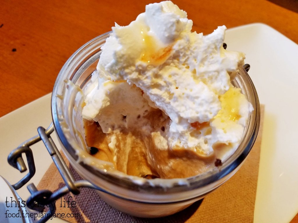 Salted Caramel Pudding at California Pizza Kitchen