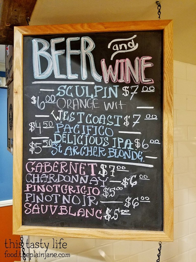 Beer and Wine Menu at Fish District Eatery | San Diego, CA