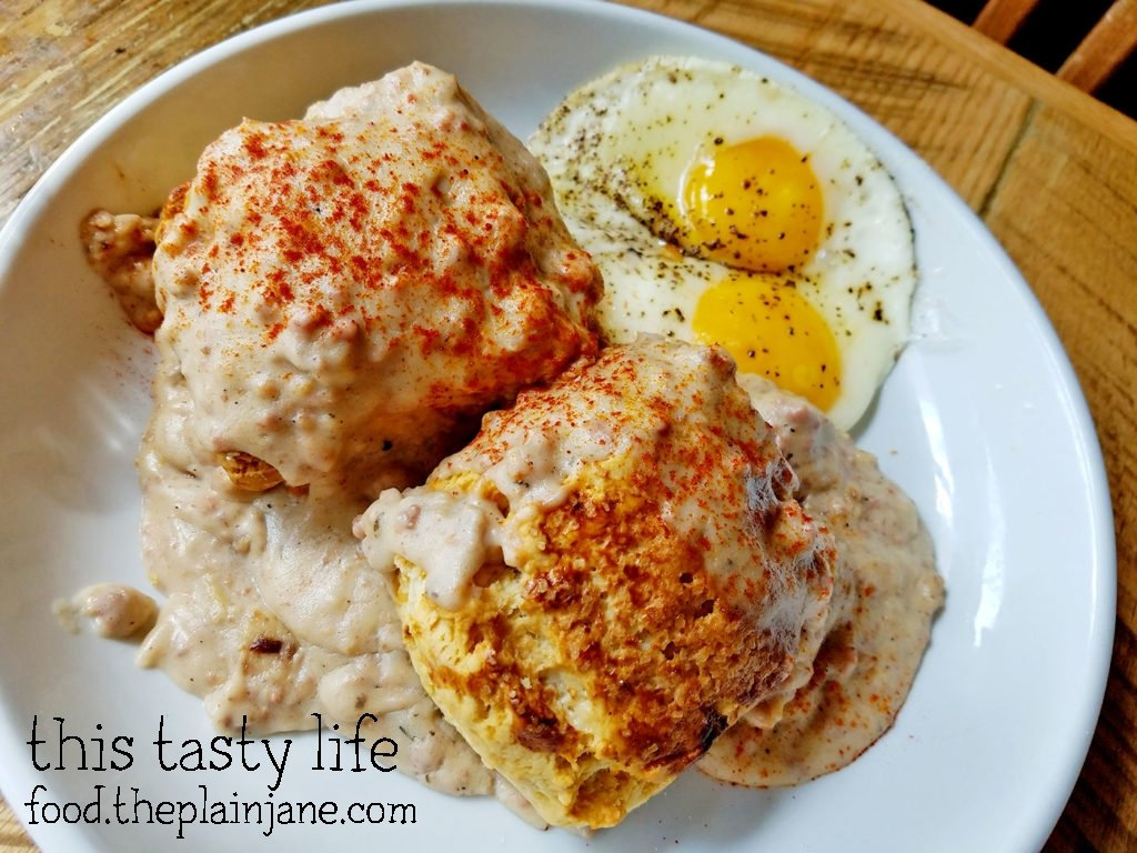 Biscuits and Gravy with Eggs / Grits Fullerton - Fullerton, CA