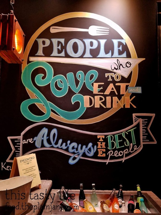 People Who Love to Eat Are The Best People | Encontro North Park - San Diego, CA