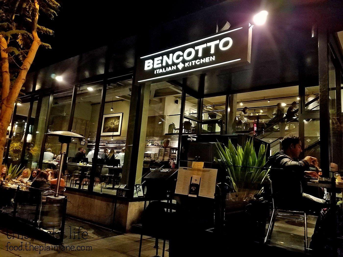 Bencotto Italian Kitchen San Diego Restaurant Week Preview This