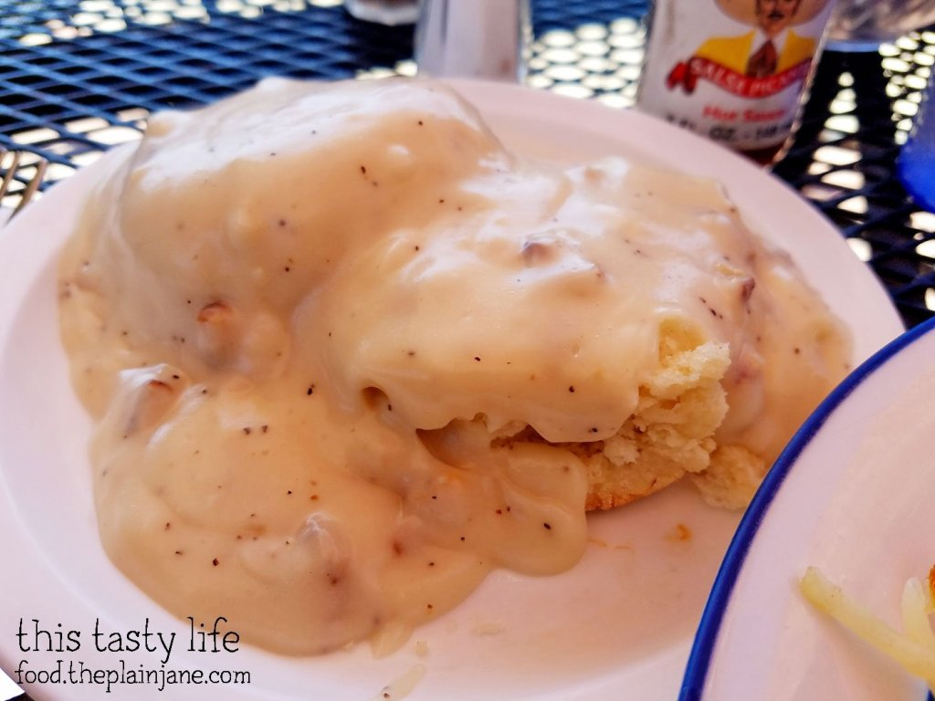 Biscuits and Gravy at Shirley's Kitchen | La Mesa