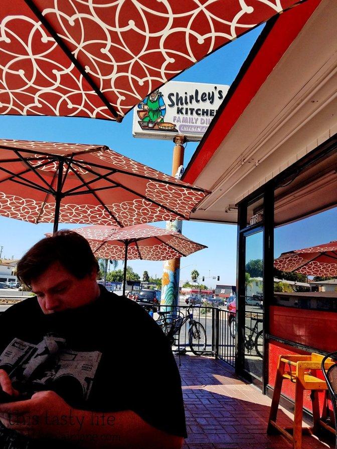 Patio - Shirley's Kitchen   La Mesa