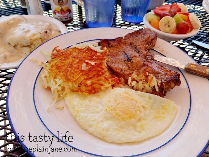 Steak & Eggs - Shirley's Kitchen   La Mesa