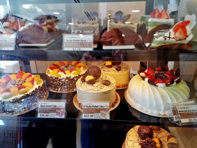 Cakes at Sunmerry Bakery - Irvine, CA