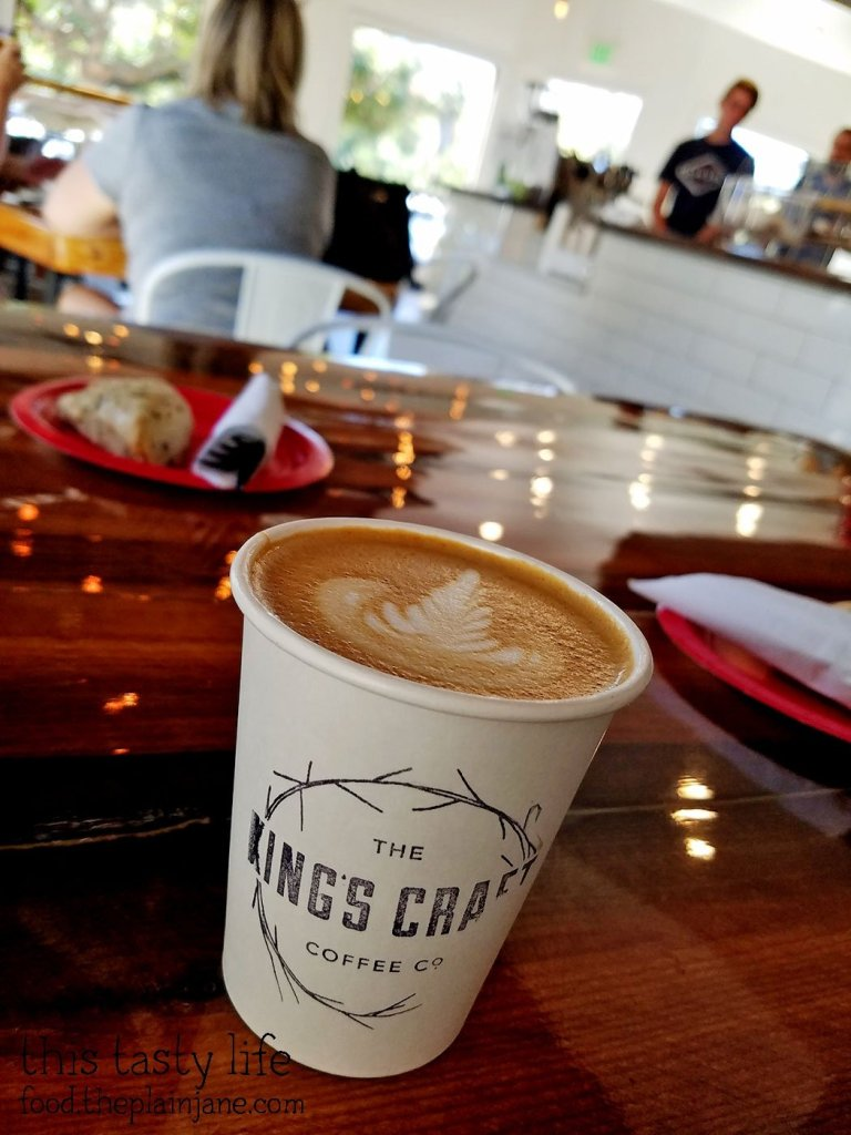 Flat White - The King's Craft Coffee Co / Poway, CA