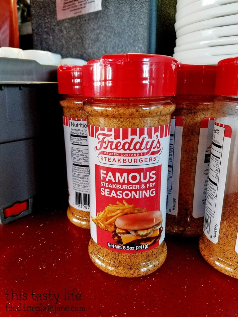 Freddy's Steakburger and Fry Seasoning