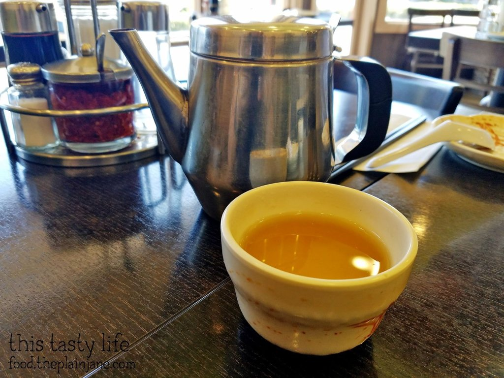 Hot Tea at A&J Restaurant   Irvine, CA