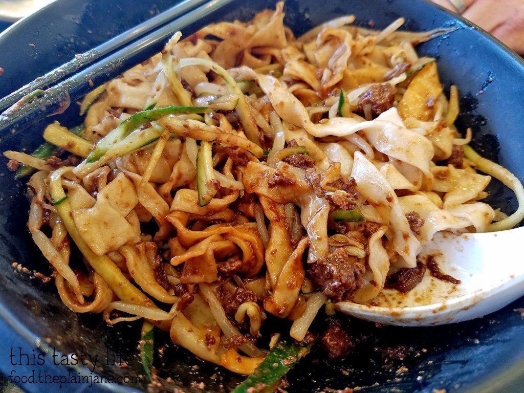 Mixed Pork Noodles at A&J Restaurant   Irvine, CA