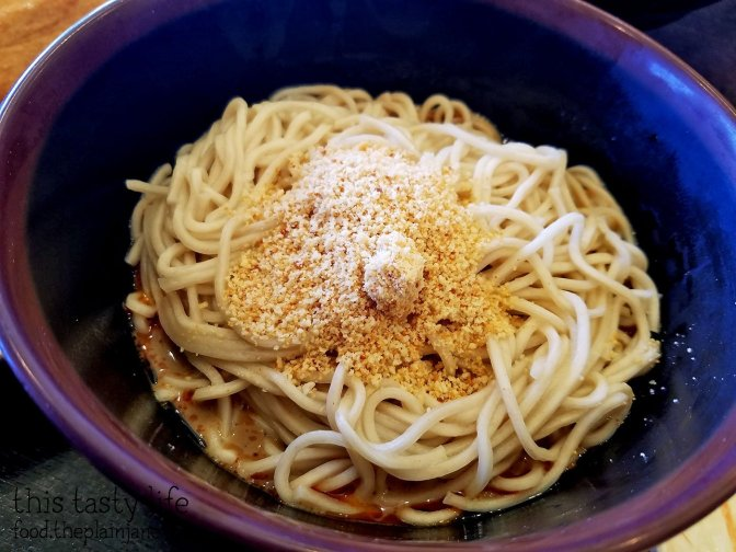 Noodles in Spicy Sesame Sauce at A&J Restaurant | Irvine, CA