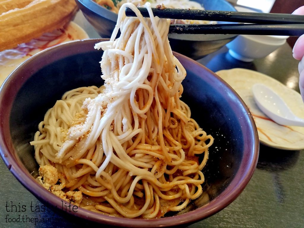 Thin Handmade Noodles at A&J Restaurant | Irvine, CA