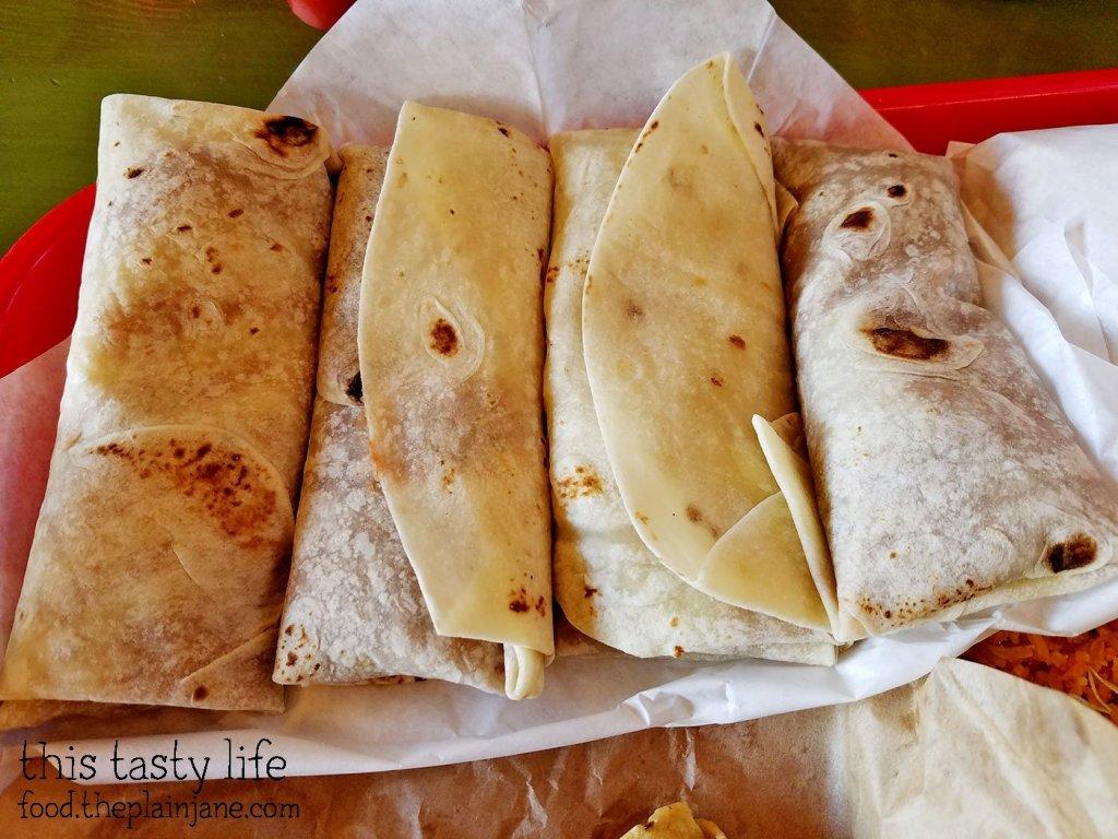 Bean and Cheese Burritos - The Chile Pepper - Yuma, AZ