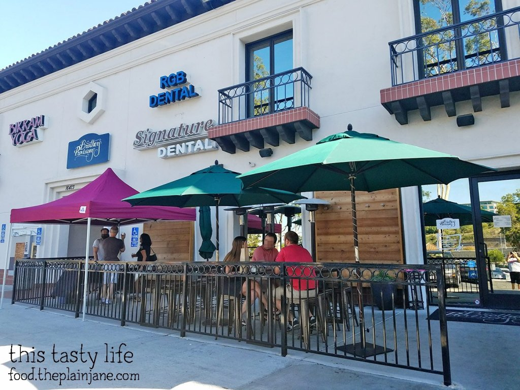 Patio at Brothers Provisions | Rancho Bernardo, CA