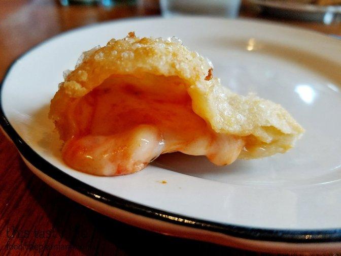 Fried Calzone   Monello - San Diego, CA