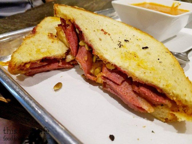 Pastrami Sandwich at Brothers Provisions   Rancho Bernardo, CA