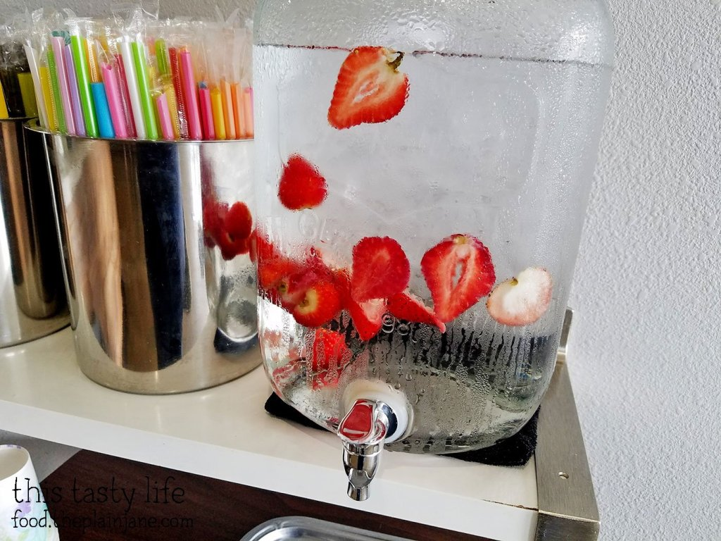 strawberry-water