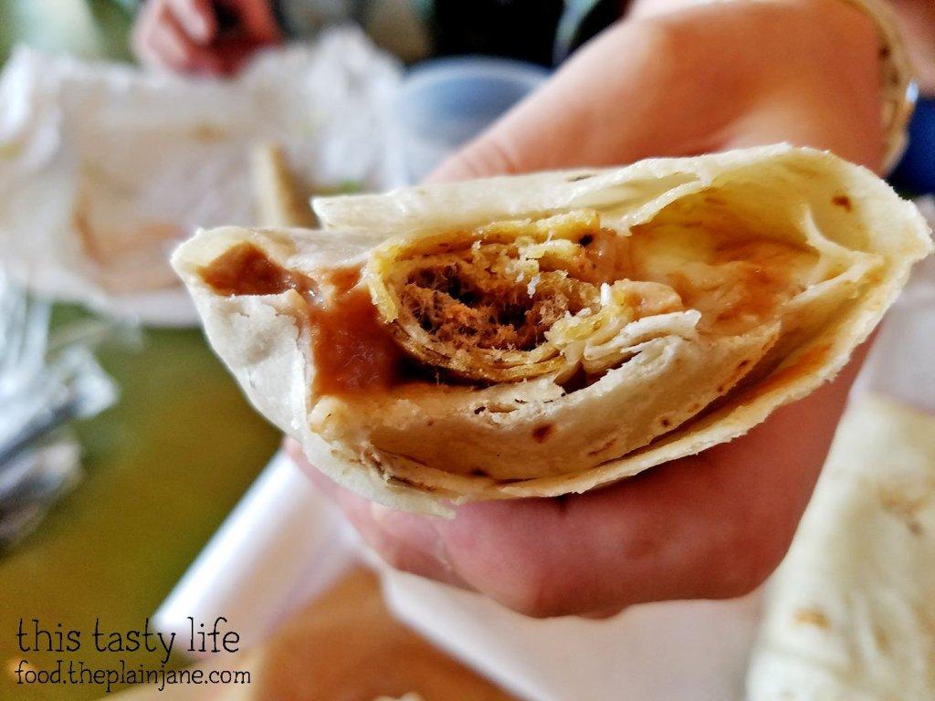 Taco Burrito Creation - The Chile Pepper - Yuma, AZ