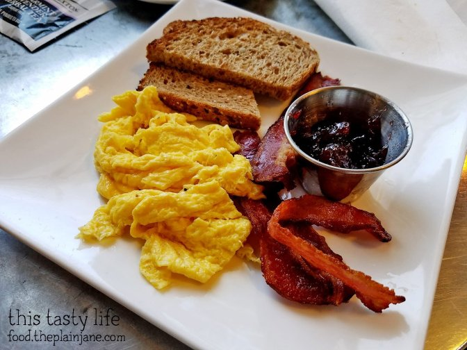 Kids Breakfast Plate at Tourist Home Urban Market   Flagstaff, AZ