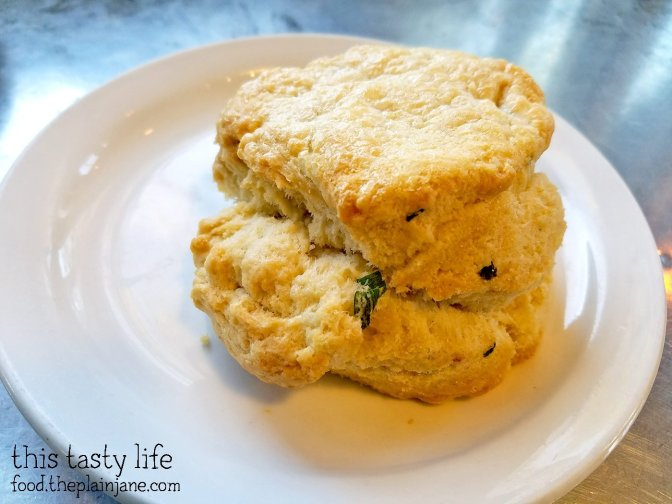 Scallion Biscuit at Tourist Home Urban Market   Flagstaff, AZ