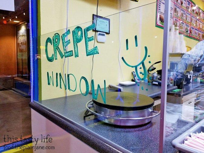 Crepe Window! at Fruteria La Buga - San Diego, CA - This Tasty Life