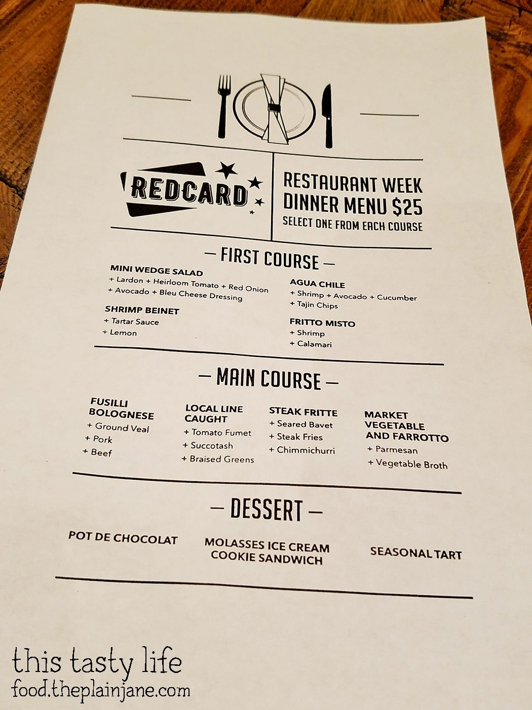 Red Card Cafe - San Diego Restaurant Week Preview - This Tasty Life