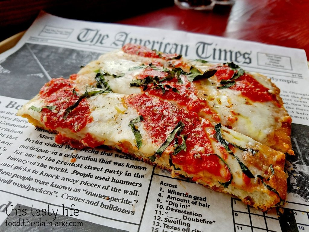 Sicilian Style Pizza at Square Pizza Co - Pacific Beach - San Diego, CA | This Tasty Life