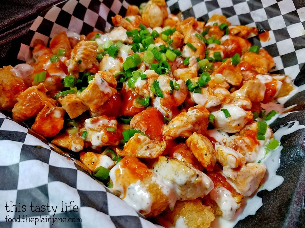 Buffalo Style Tater Tots at Grubz Takeout Restaurant | San Diego, CA