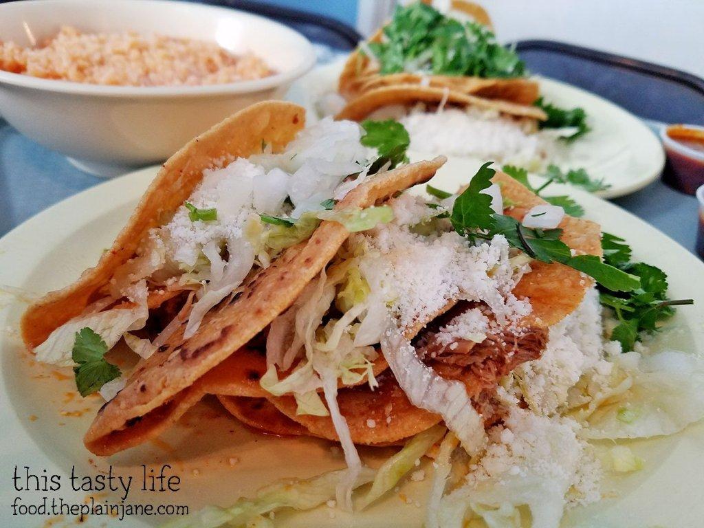 Crunchy tacos at Las Cuatro Milpas | San Diego, CA | This Tasty Life