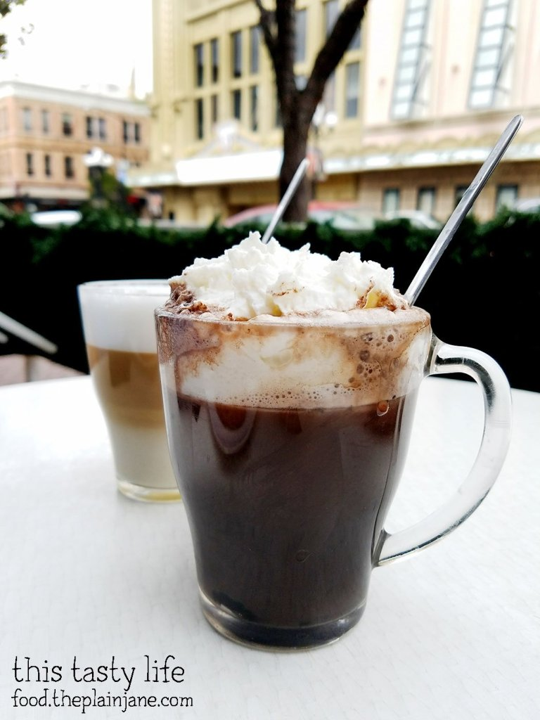 Hot chocolate at Le Parfait Paris | San Diego, CA