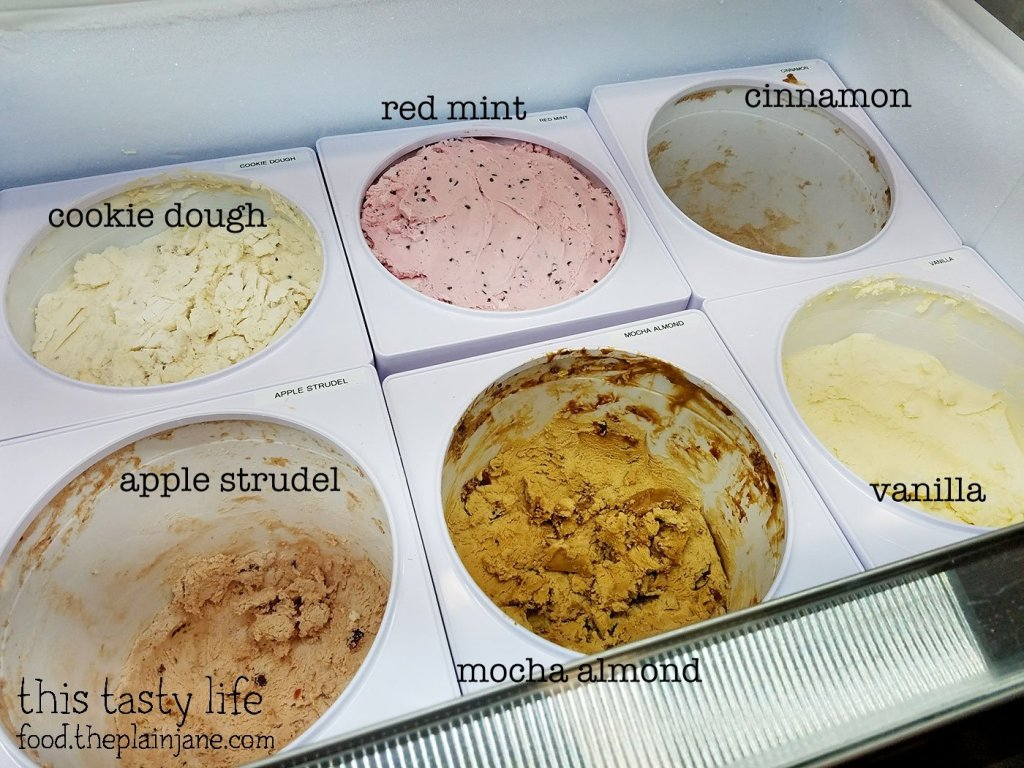Ice Creamt Flavors at Treet Ice Cream Sandwiches | San Diego, CA | This Tasty Life