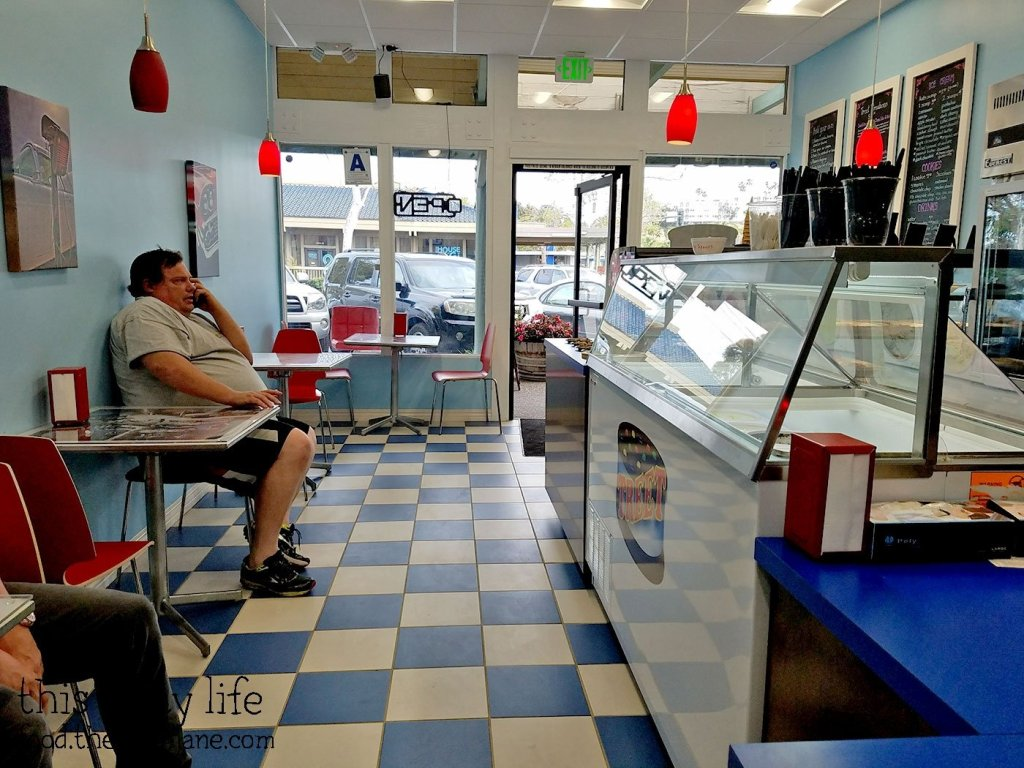 Interior at Treet Ice Cream Sandwiches | San Diego, CA | This Tasty Life