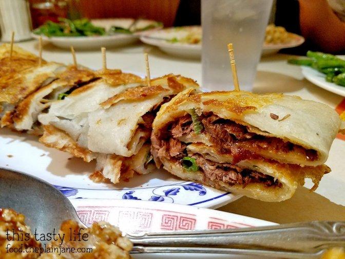 Beef Roll at Peking Restaurant   Westminster, CA