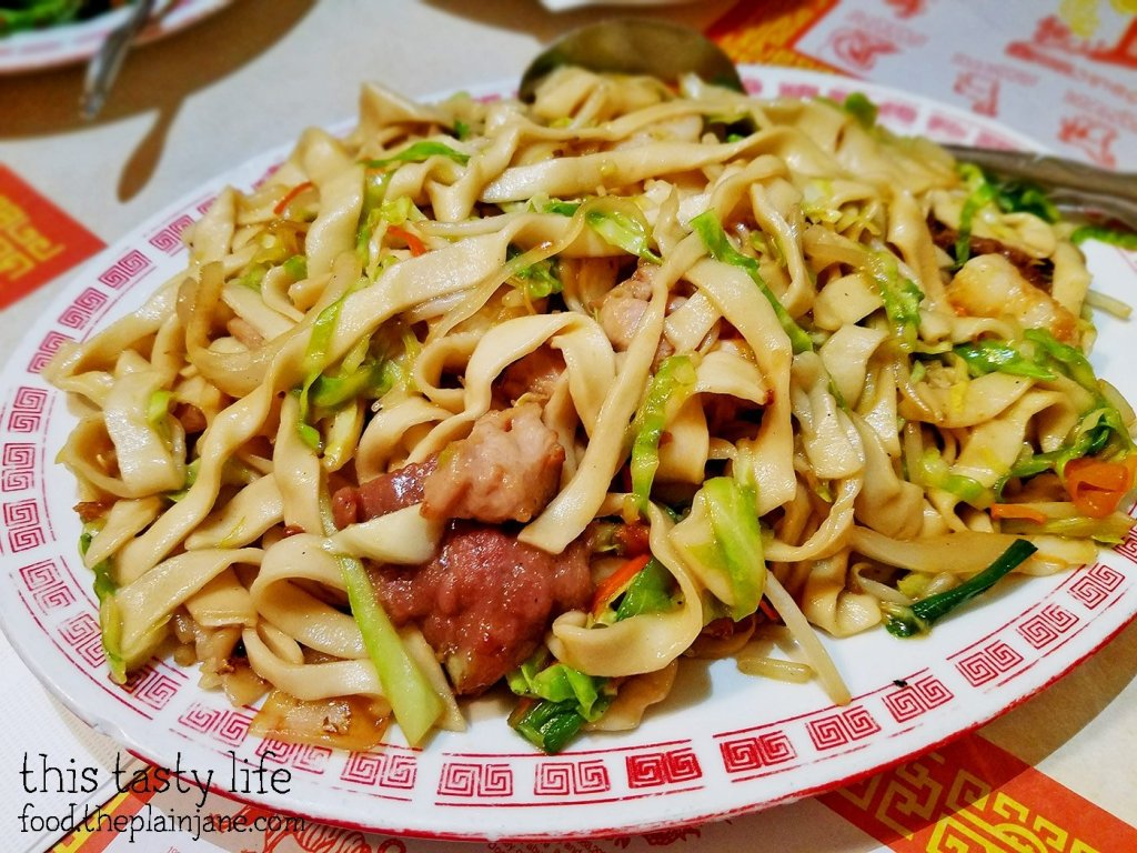 Combination Pan Fried House Noodles at Peking Restaurant | Westminster, CA