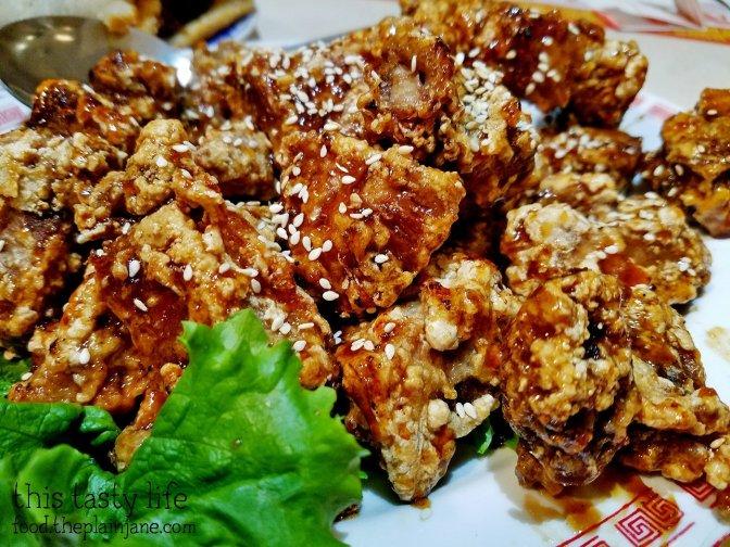 Honey with Spareribs at Peking Restaurant   Westminster, CA